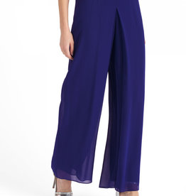 Luisa Spagnoli Silk Georgette Trousers