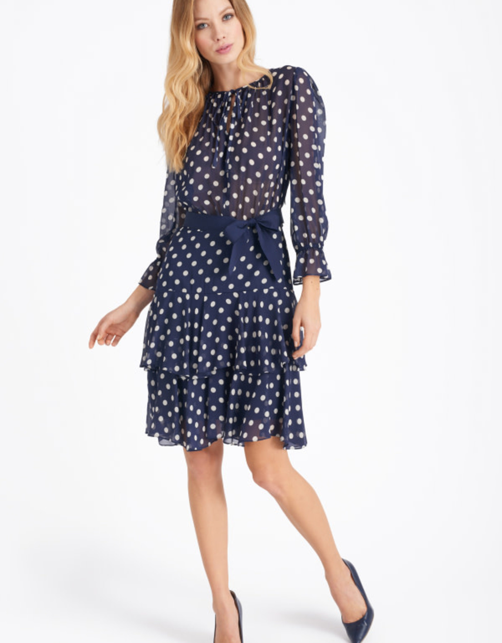 Luisa Spagnoli Printed Viscose Dress