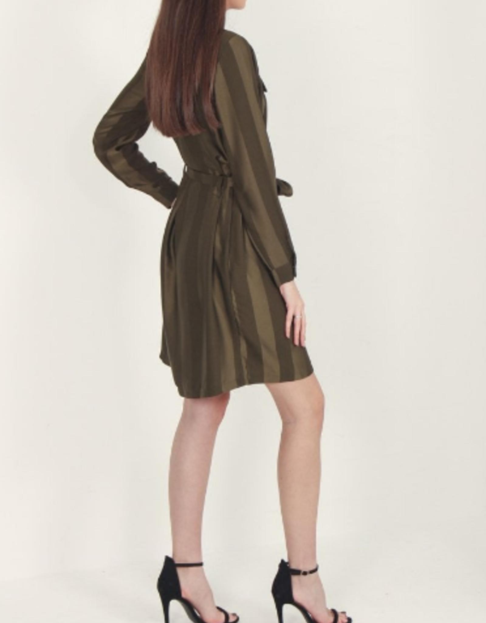 Nu Striped Jacket Dress