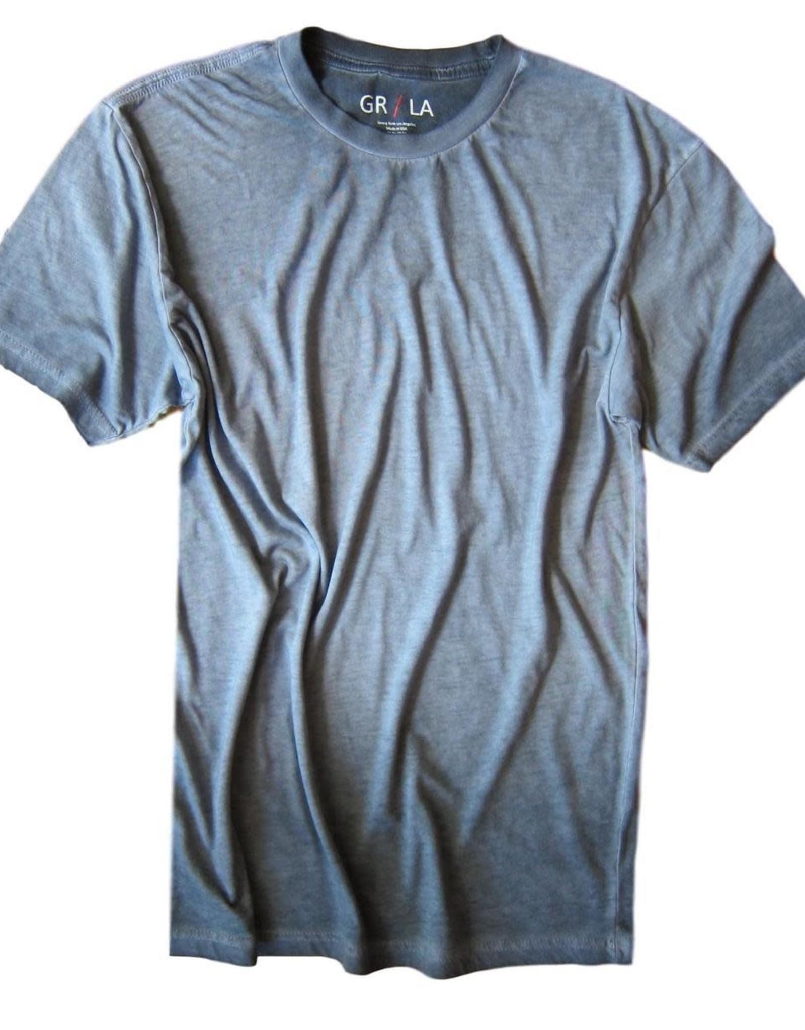 Georg Roth Crew Neck Short Sleeves Garment Dyed-T-Shirt