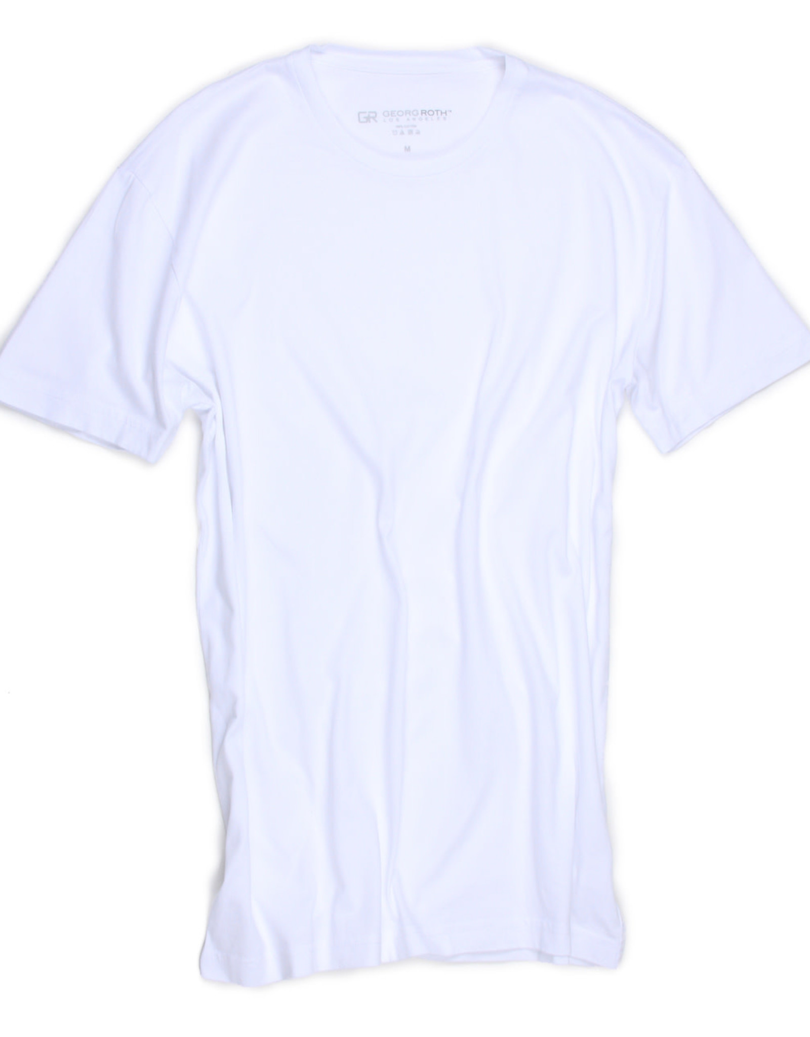 Georg Roth Luxury Pima Crew Neck Short Sleeves T-Shirt