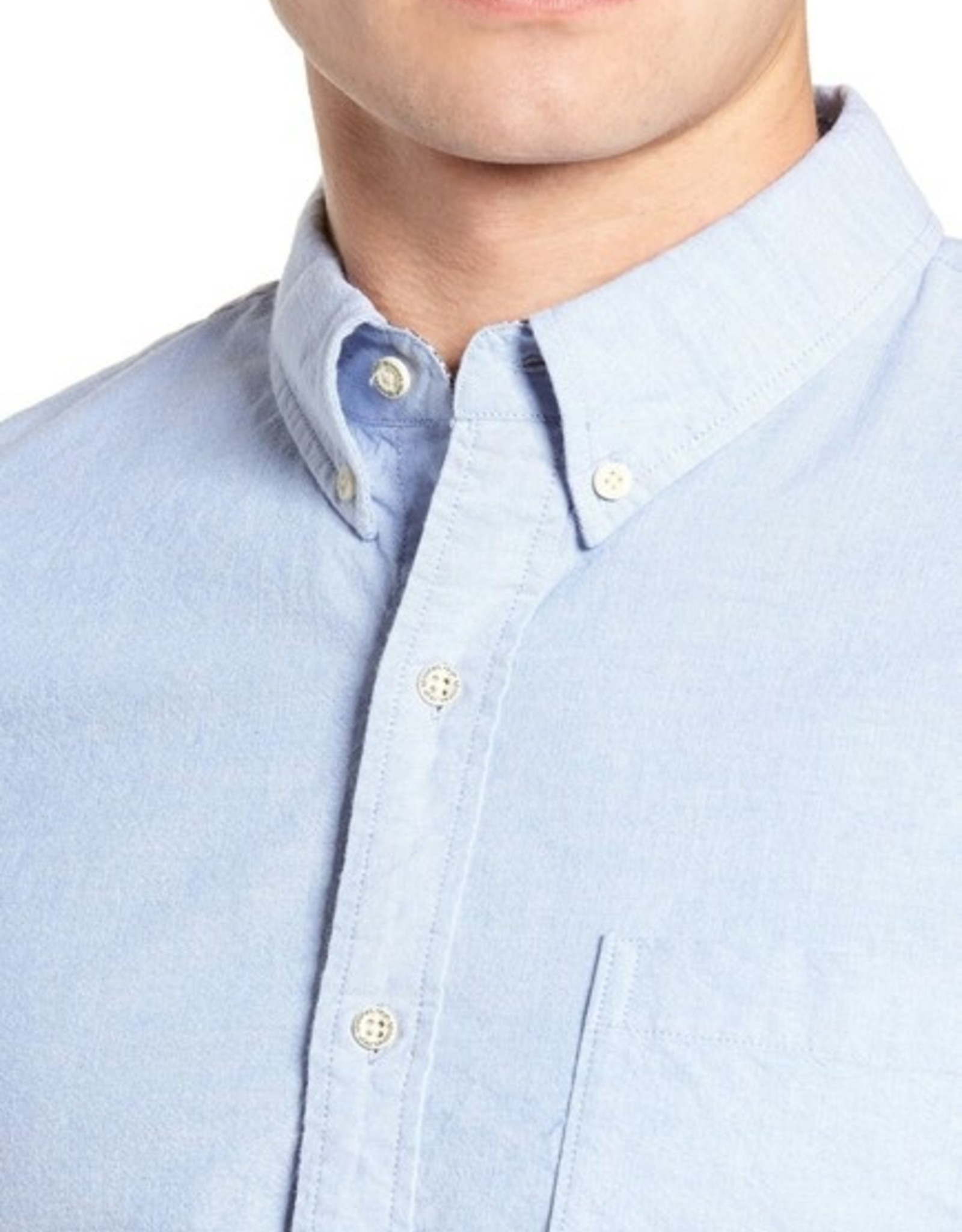 reyn spooner Solid Stretch Oxford Shirt