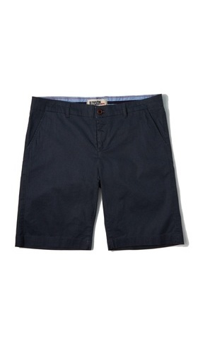Benson Woven Roll Up Shorts