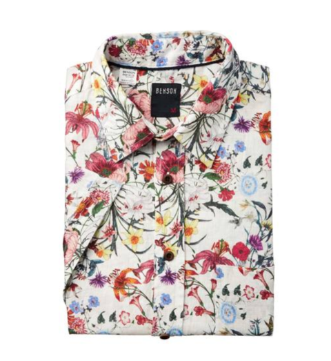 Benson LS Printed Shirt