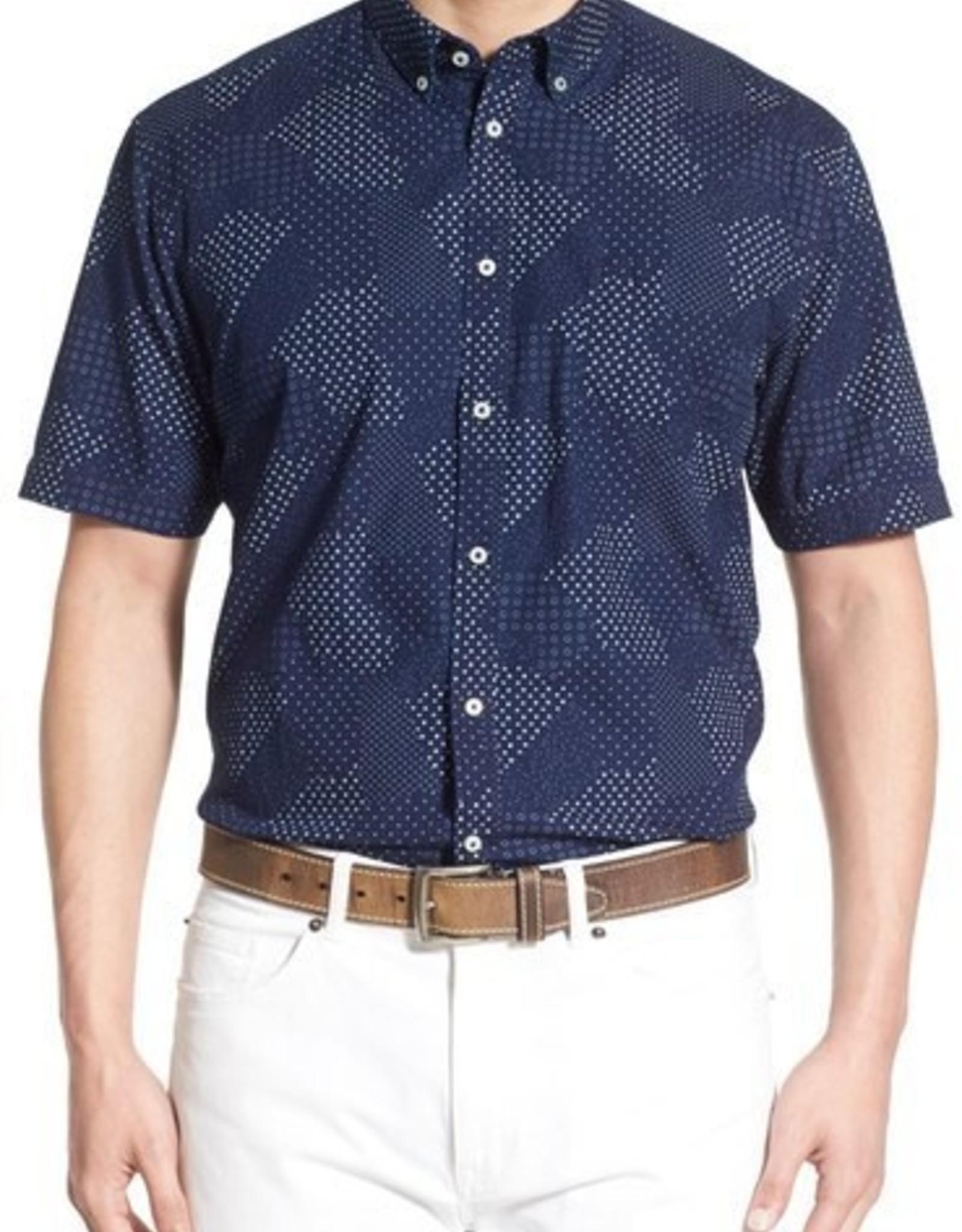 Thomas Dean & Co Thomas Dean Short Sleeve Shirt