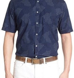 Thomas Dean & Co Thomas Dean Short Sleeve Shirt