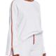 Etienne Marcel High Low Side Zip Sweatshirt