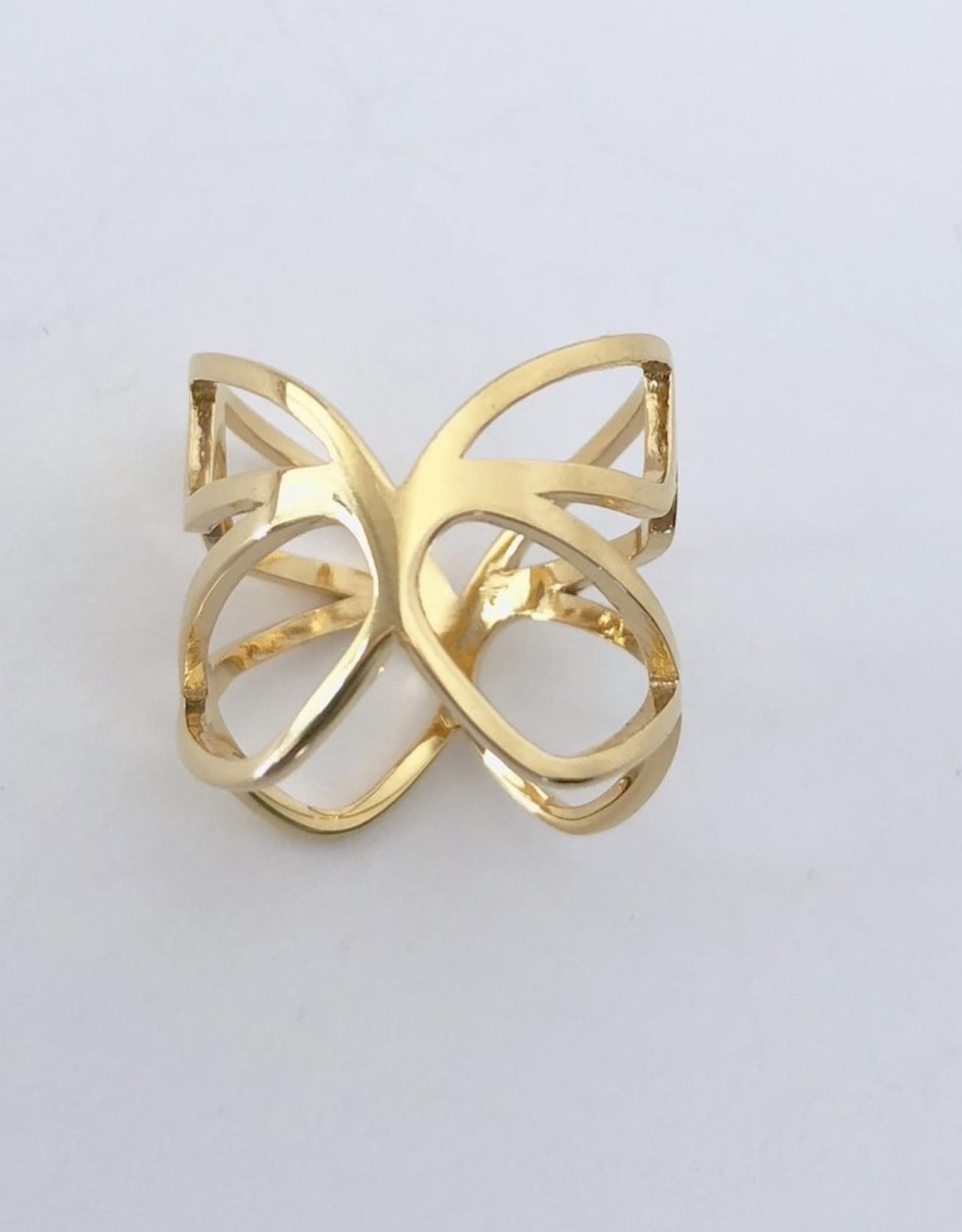 Louven PIERES GOLD RING