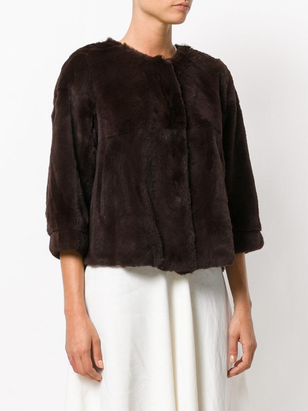 Twin Set Fur Coat