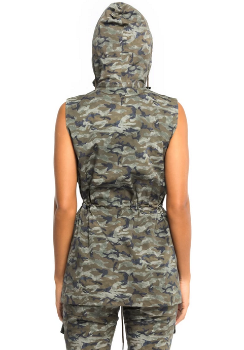 Anatomie CAMO BELLA Vest