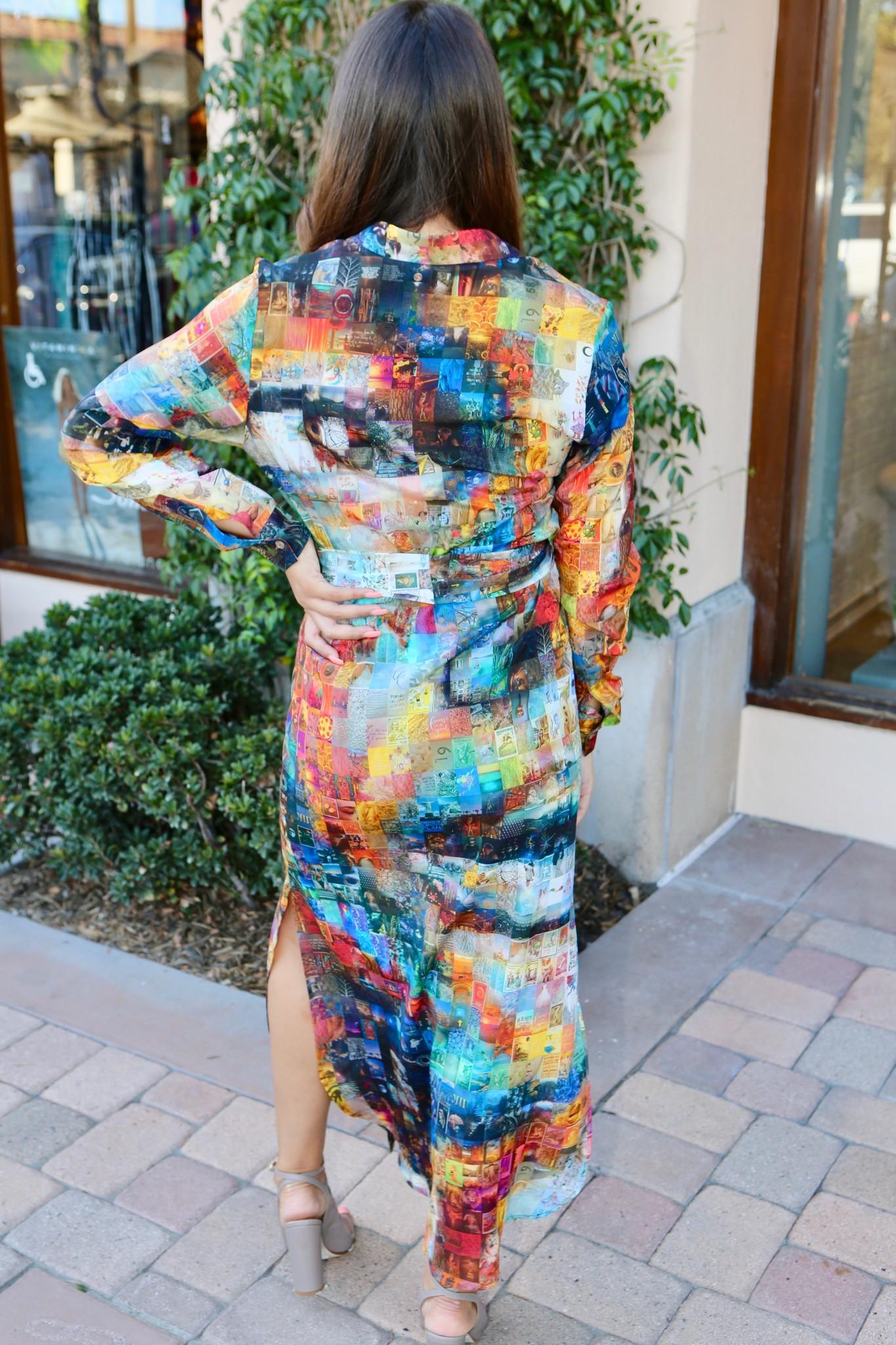 Unbreakable Evolution Shirt Dress Maxi