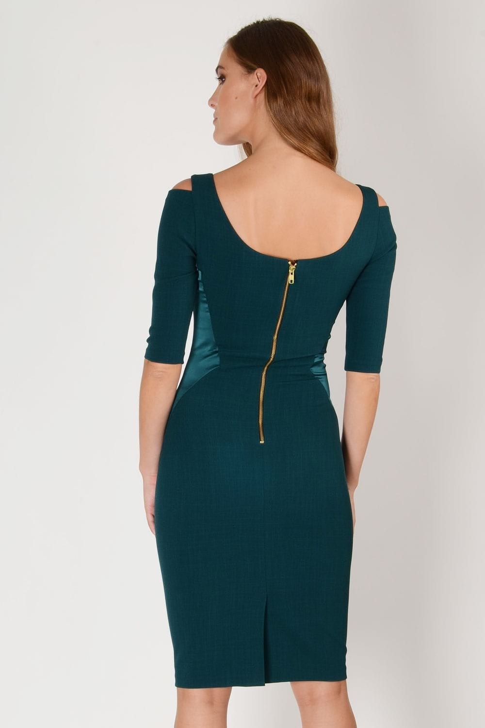 SUKI Dress Forest Green 8