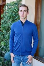 Umberto Vallati Merino Knit Jacket