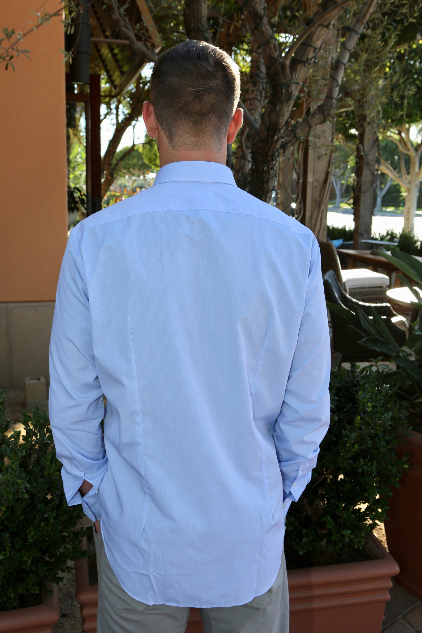 Alex Ingh Sandro CUSTOM Fitted Shirt