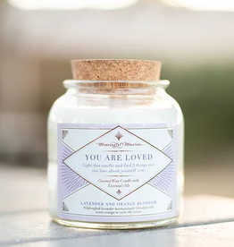 Meaningful Mantras Coconut Candle You Are Loved 6 oz