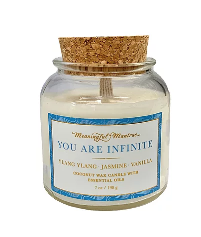 Coconut Candle You Are Infinite