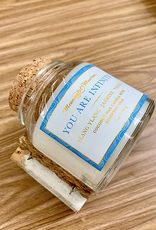 Meaningful Mantras Coconut Candle You Are Infinite 6 oz