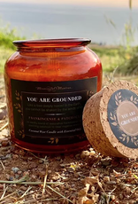 Meaningful Mantras Coconut Candle You Are Grounded 6 oz