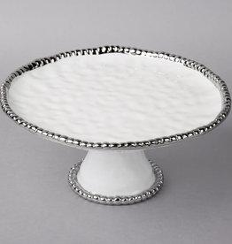 Round Cake Stand White