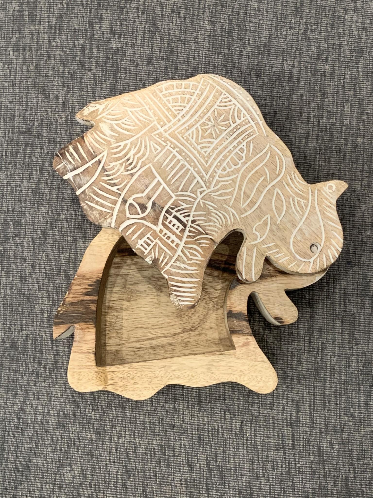 Shiraleah Chicago Elephant Box Natural