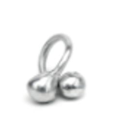 VESTOPAZZO Aluminum Ball Ring