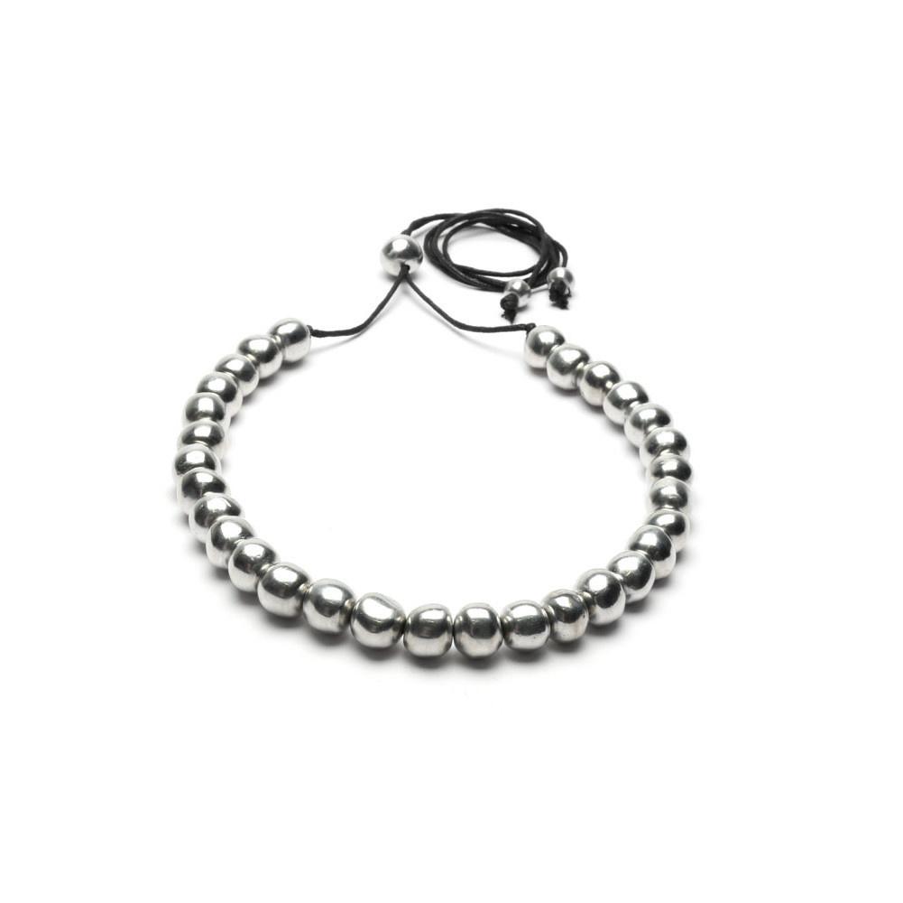 VESTOPAZZO Aluminum Big Ball Necklace