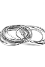 VESTOPAZZO Aluminum Bracelet Set 10pcs