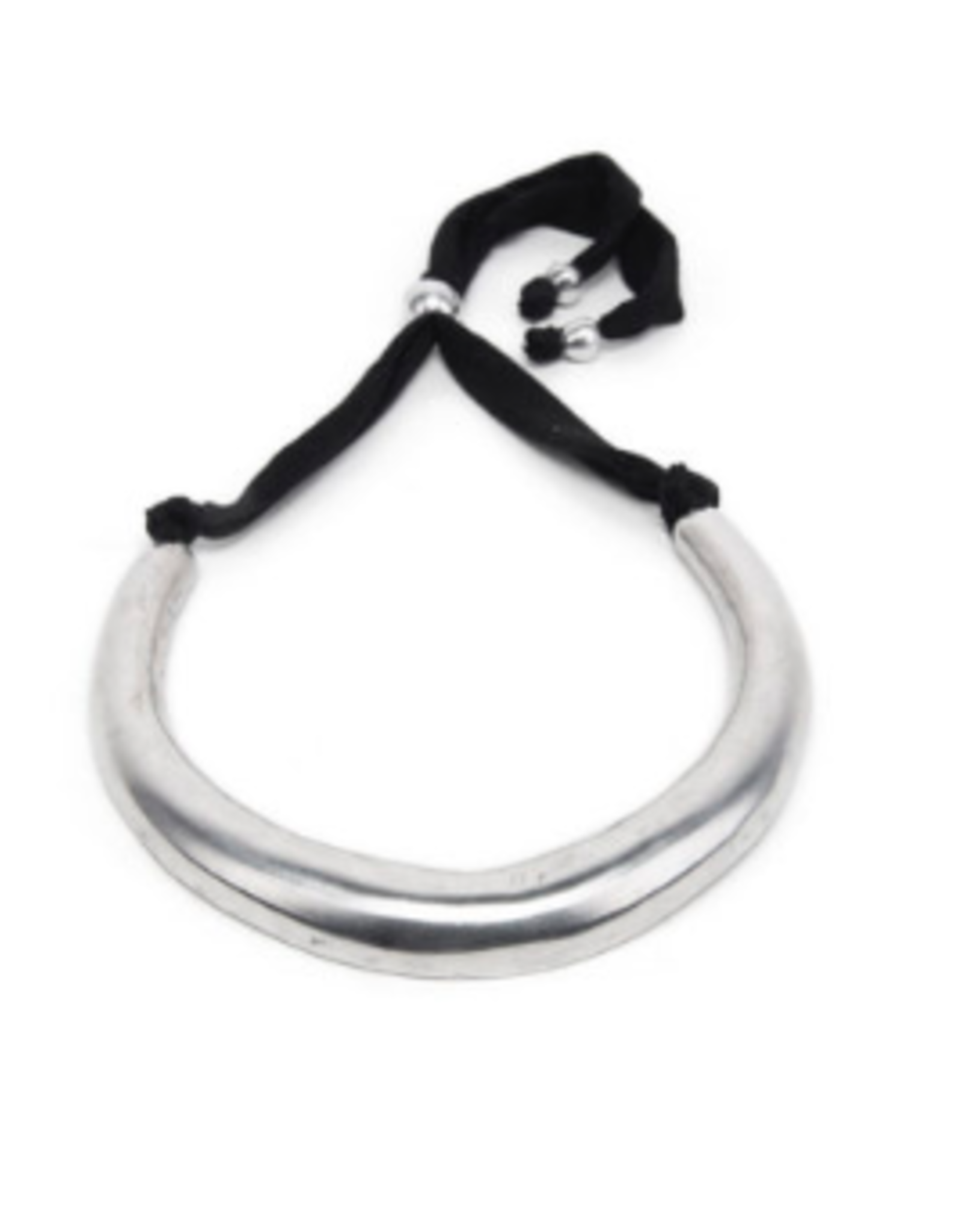 VESTOPAZZO Aluminum Collar Necklace