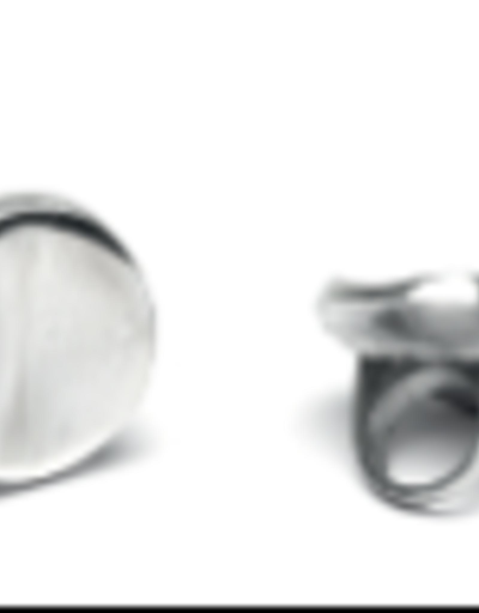 VESTOPAZZO Aluminum Concave Ring