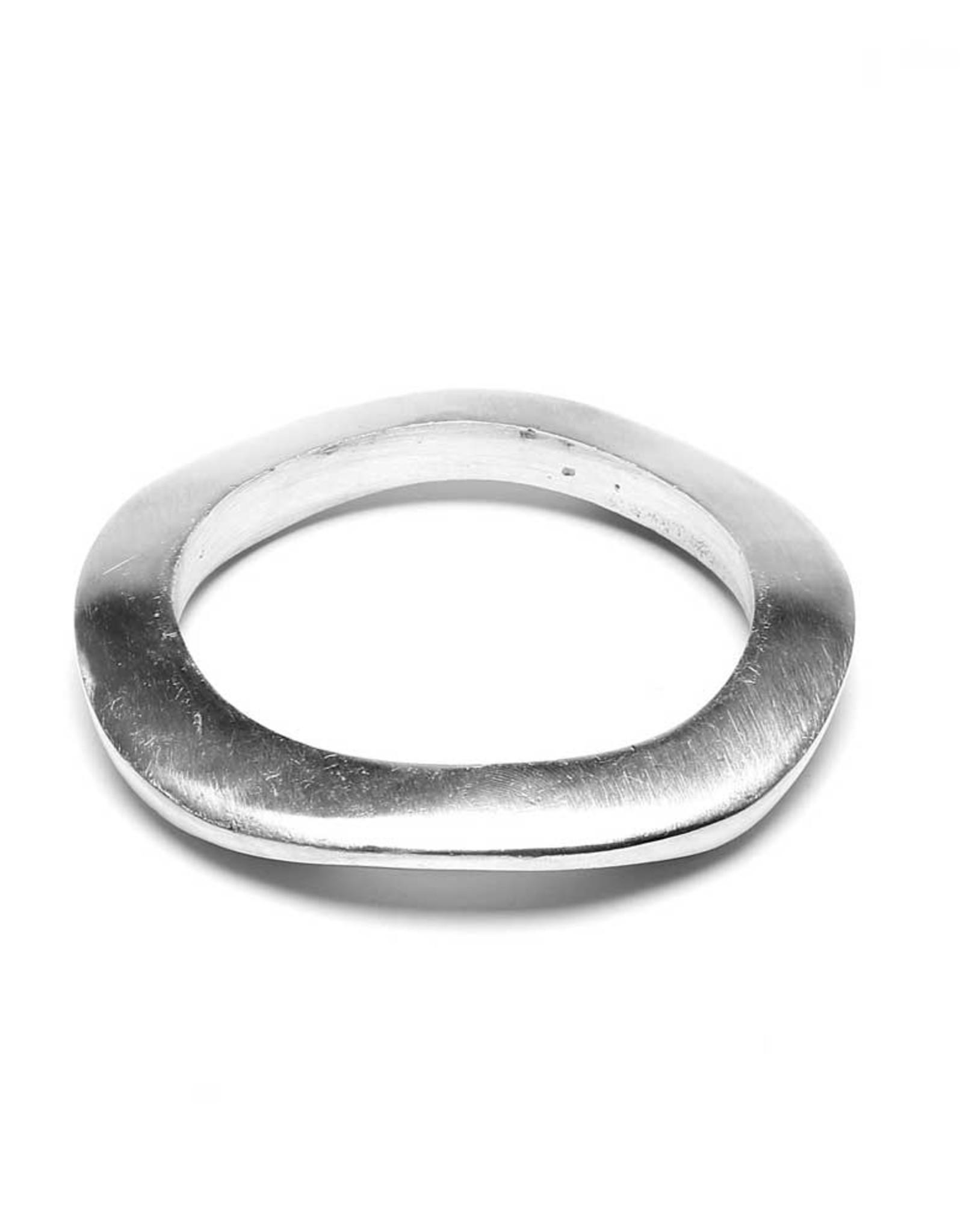 VESTOPAZZO Aluminum Corrugated Bracelet 1cm