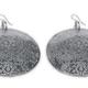 VESTOPAZZO Aluminum Floral Antique Earrings
