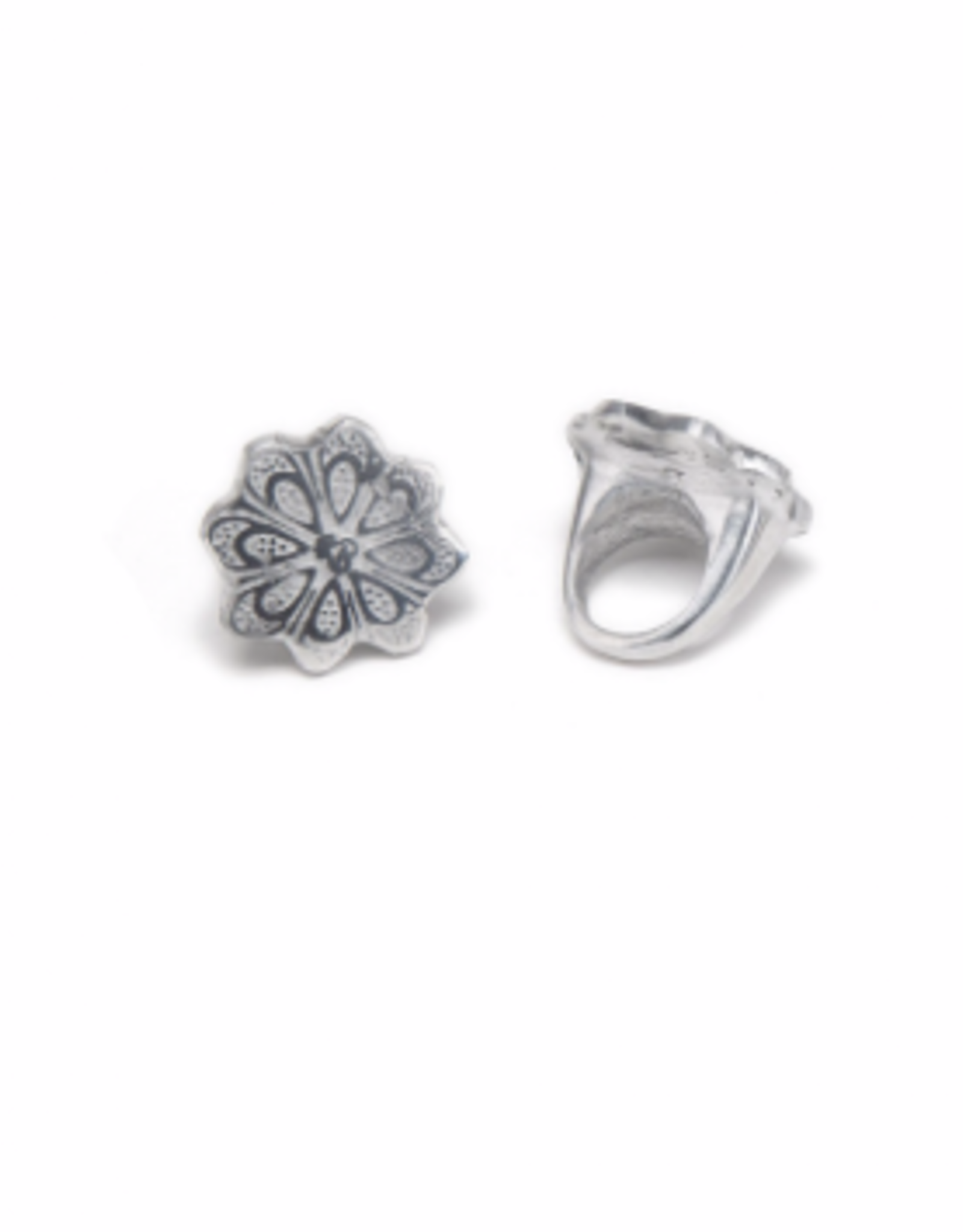 VESTOPAZZO Aluminum Flower No.3 Ring