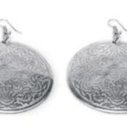 VESTOPAZZO Aluminum Intricate Antique Earrings