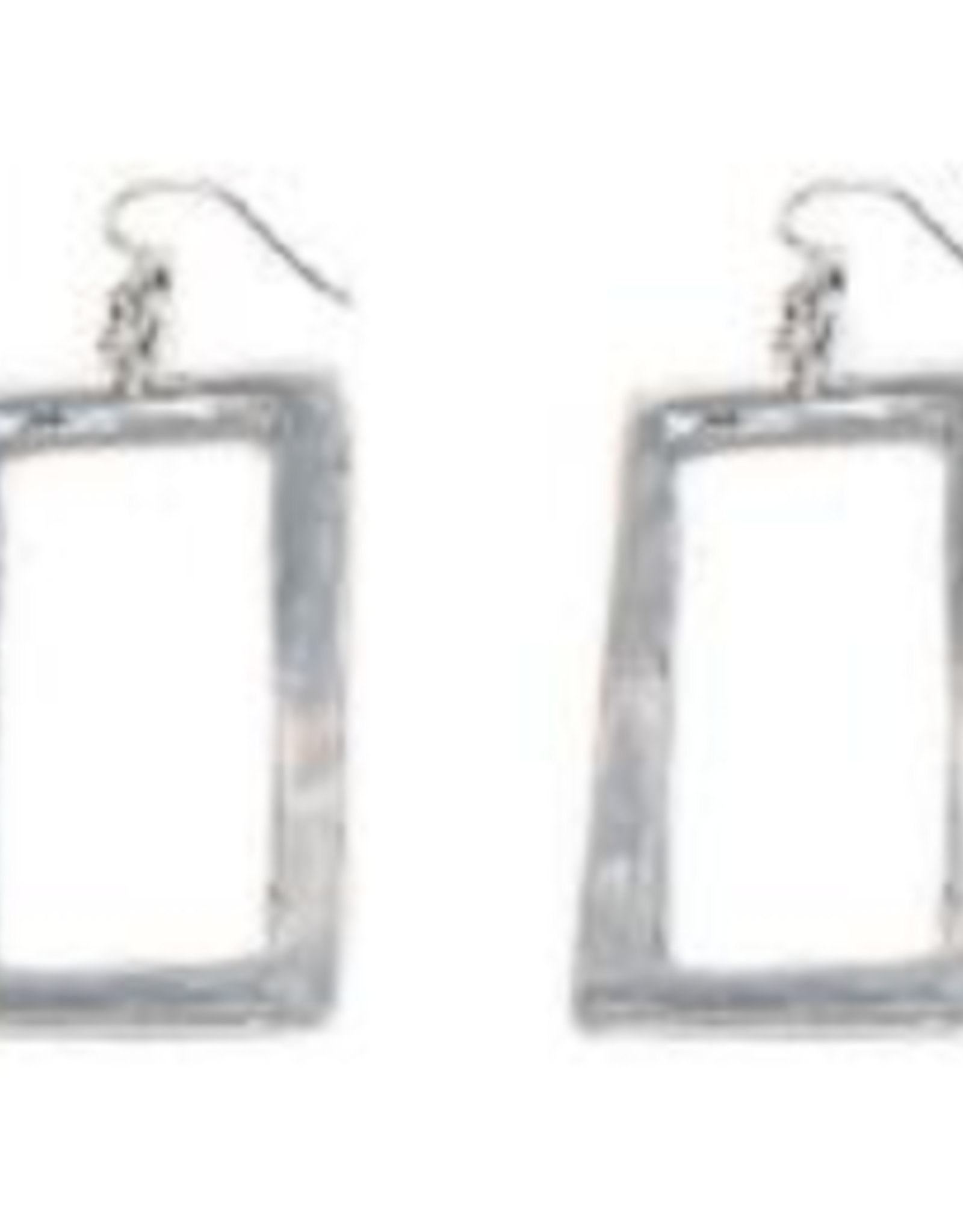 VESTOPAZZO Aluminum Rectangle Earings