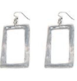 VESTOPAZZO Aluminum Rectangle Earings