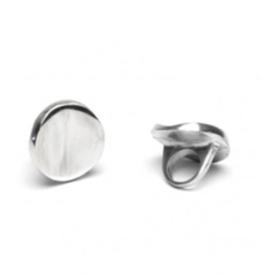 VESTOPAZZO Aluminum Round Convex Ring