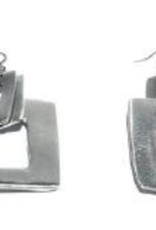 VESTOPAZZO Aluminum Square Earrings