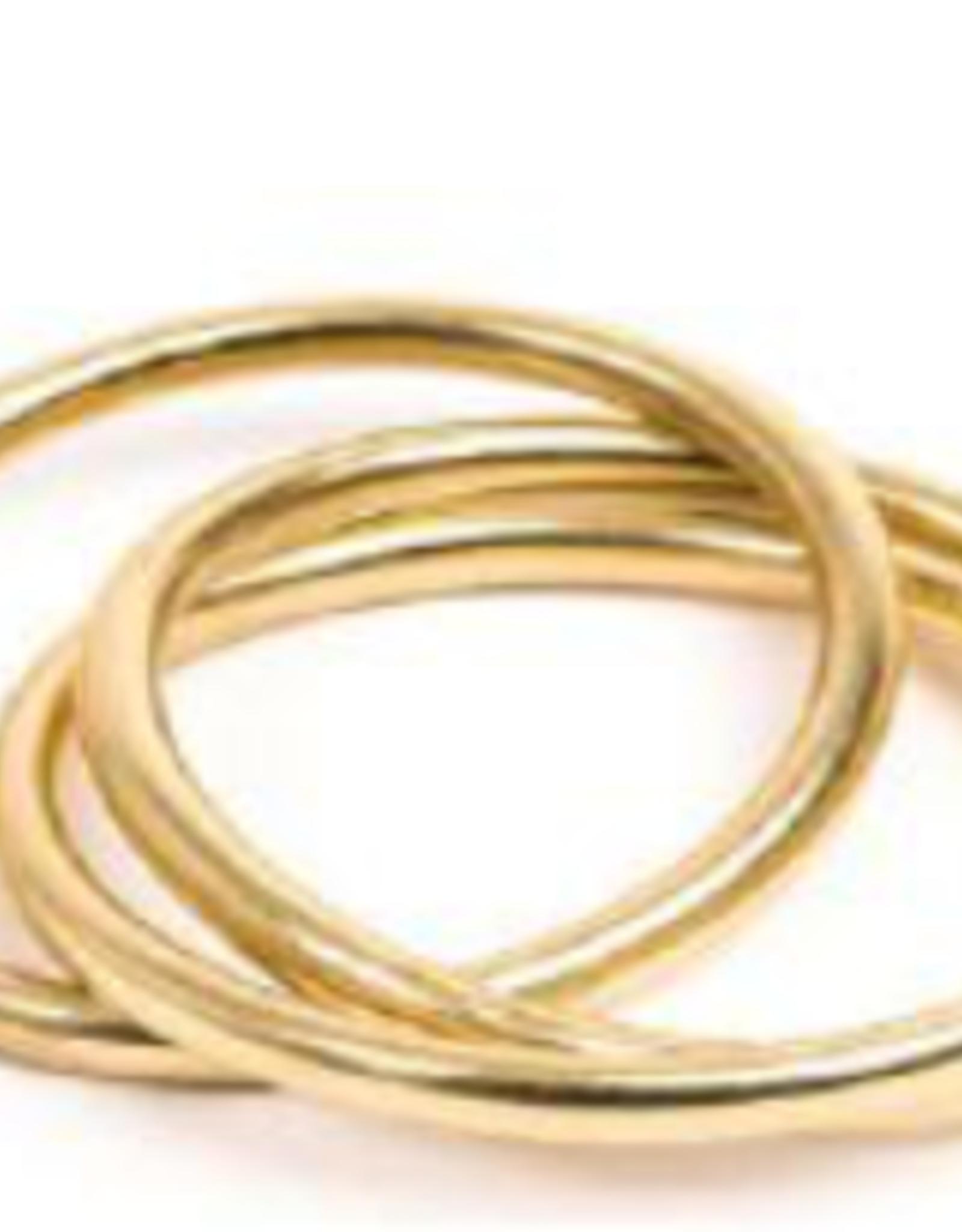 VESTOPAZZO Brass 3 Set Bangle Bracelet