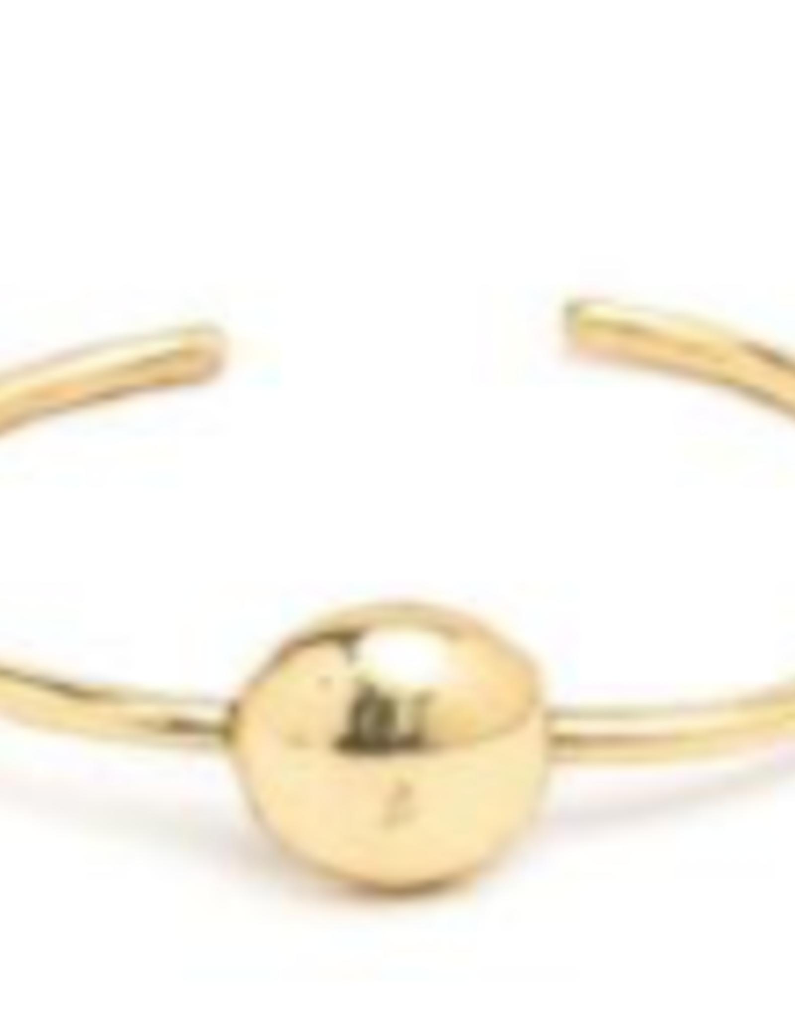 VESTOPAZZO Brass Ball Bracelet