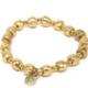 VESTOPAZZO Brass Elastic Round Bracelet