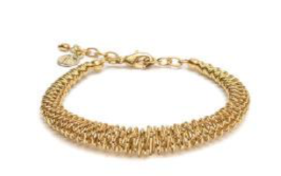 VESTOPAZZO Brass Flexible Bracelet