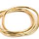 VESTOPAZZO Brass Square Bangle Bracelet