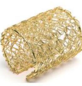 VESTOPAZZO Brass Tangle Cuff Bracelet
