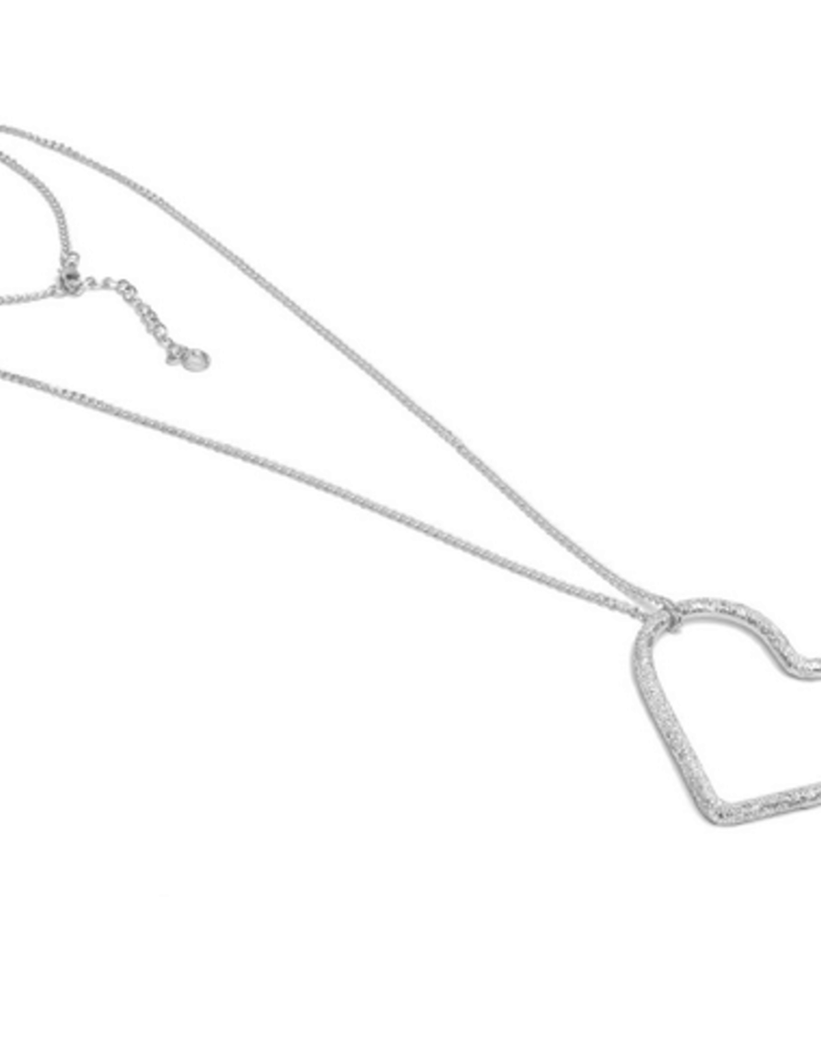 VESTOPAZZO Luces Chain Heart Pendant Necklace
