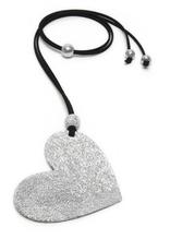 VESTOPAZZO Luces Heart Pendant Necklace