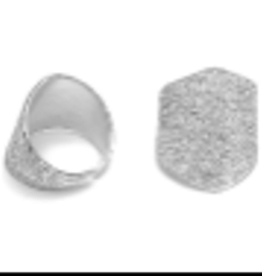 VESTOPAZZO Luces Irregular Face Ring
