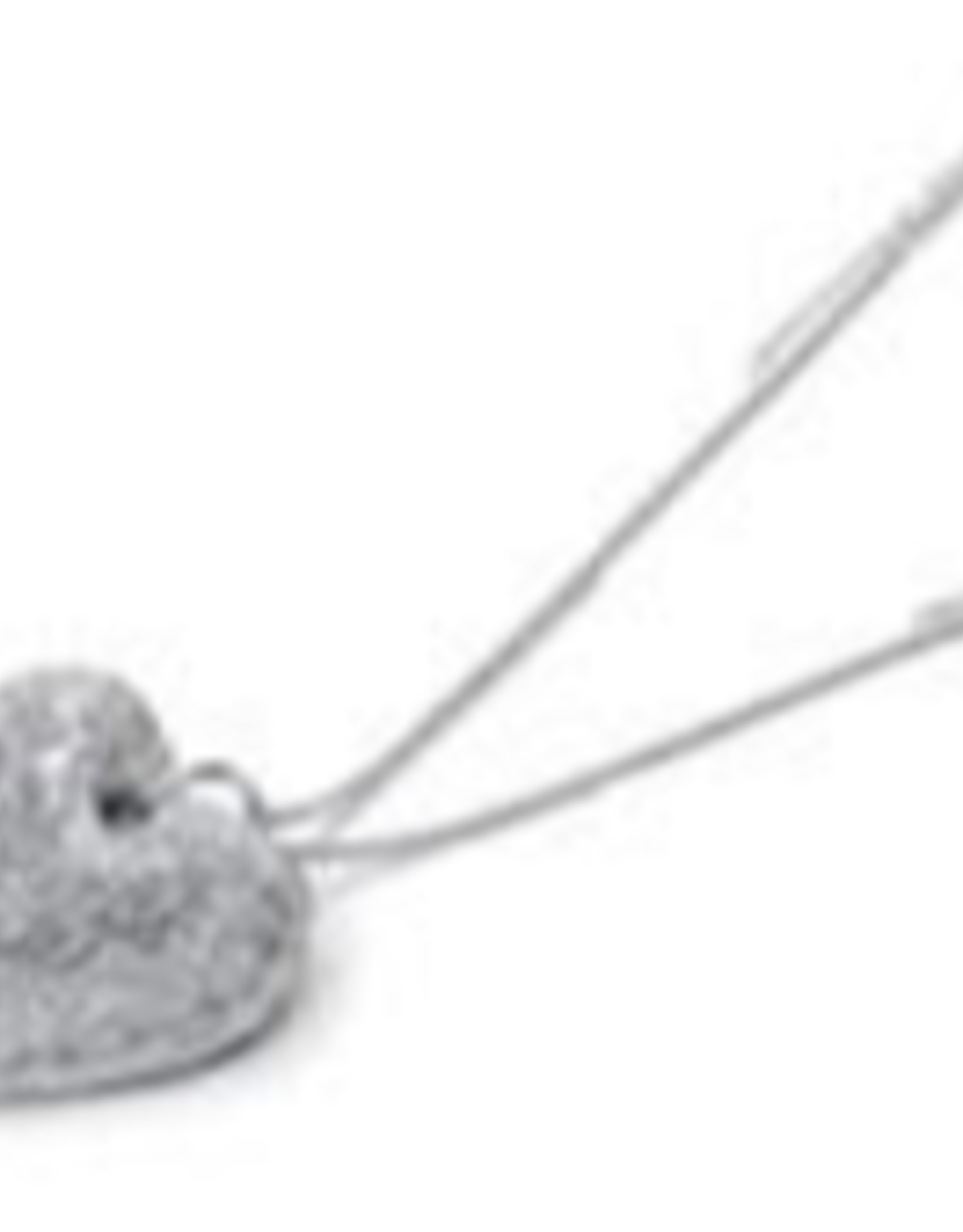 VESTOPAZZO Luces Long Heart Necklace