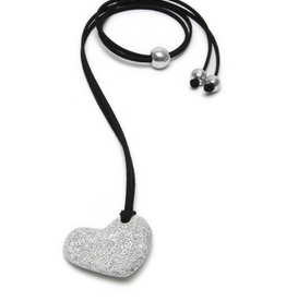VESTOPAZZO Luces Mini Heart Pendant Necklace