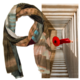 Wanderborn Artist Edition Scarf A Monk in Perspective