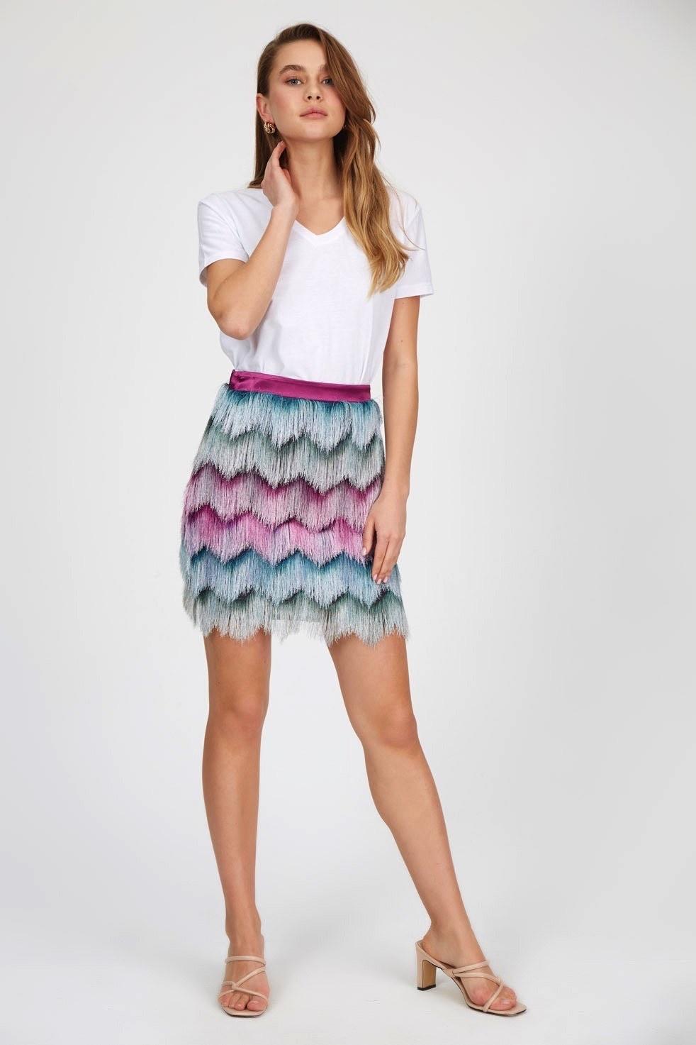 Le Fafo Purple skirts